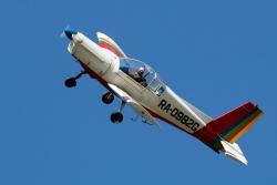 Простой пилотаж на Zlin 142