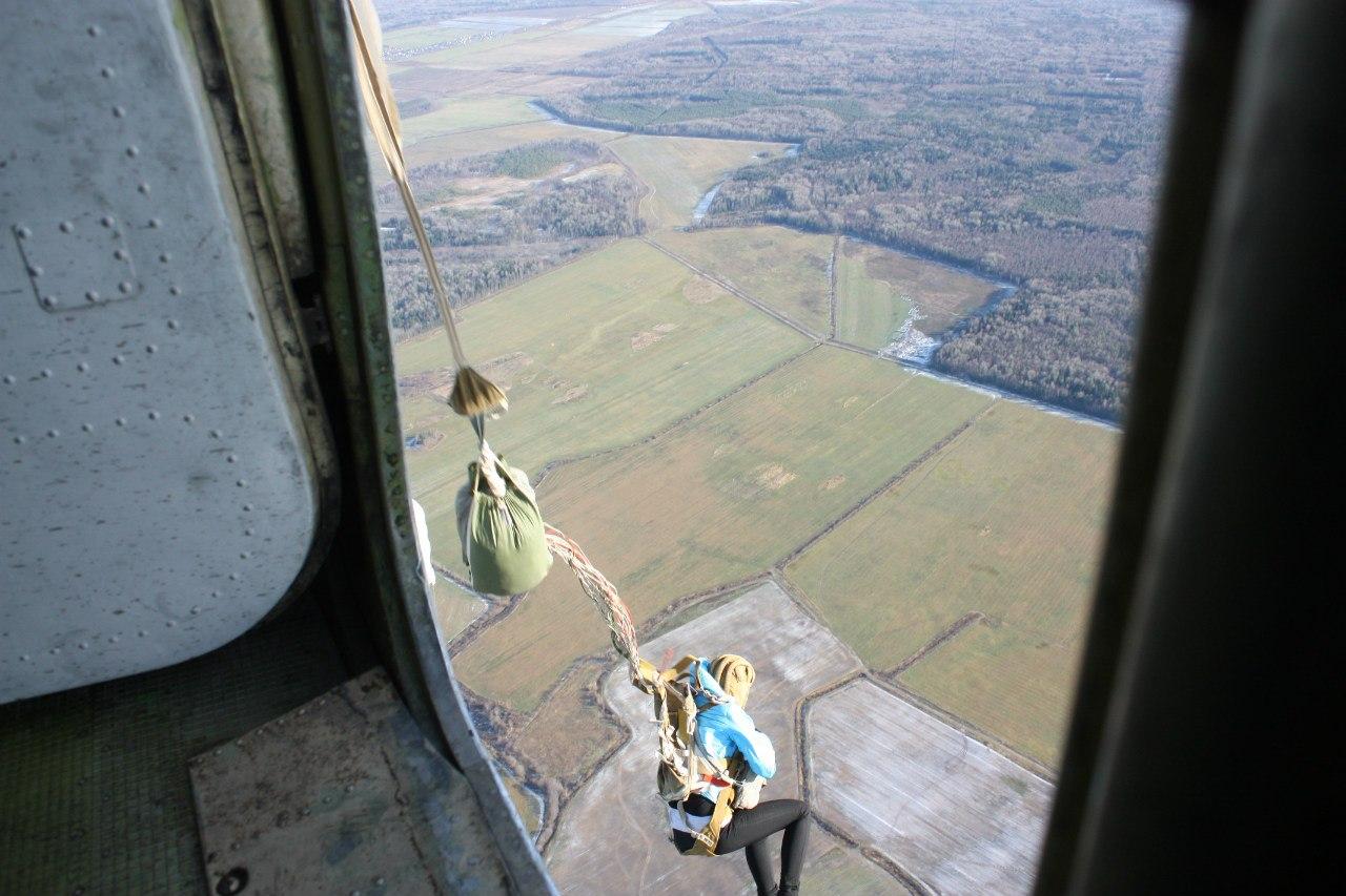 схема парашюта для прыжков с 800 метров